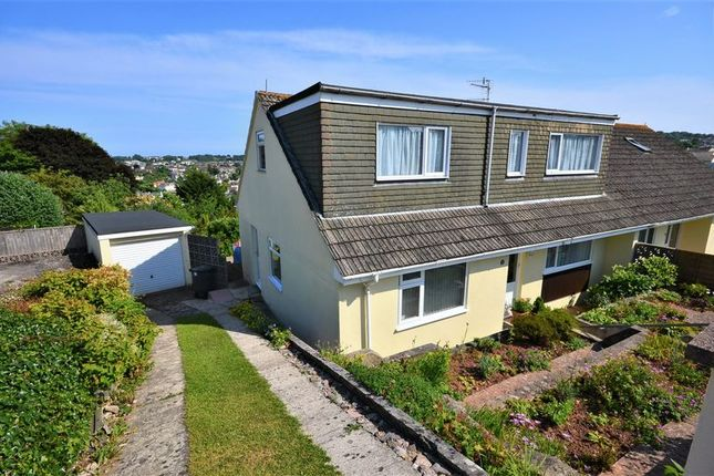 Thumbnail Semi-detached bungalow for sale in Lichfield Drive, Brixham