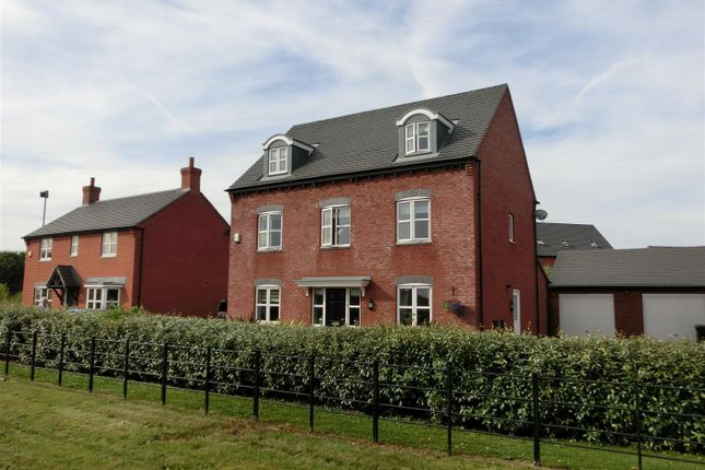 Thumbnail Detached house for sale in Stonebridge Close, Ibstock, Leicestershire