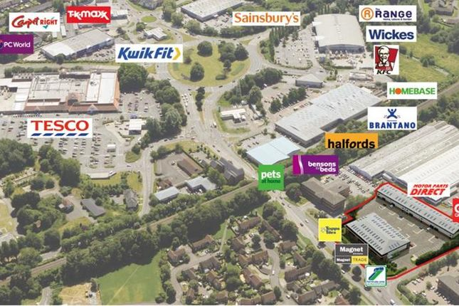 Thumbnail Retail premises to let in Unit 5 Glenmore Trade Park, Greenwich Way, Andover