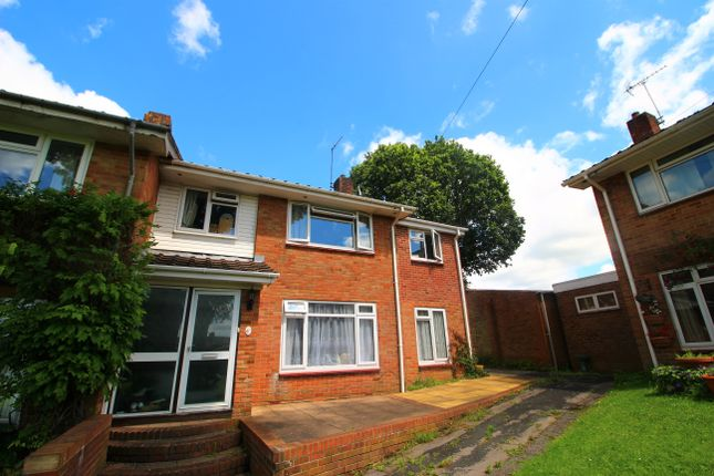 Thumbnail End terrace house for sale in Garfield Close, Bishops Waltham, Southampton