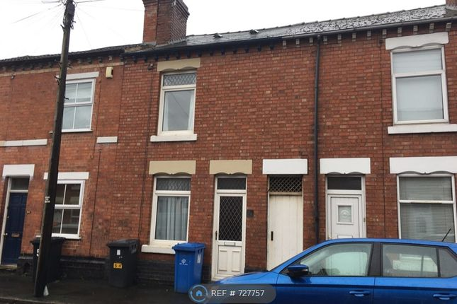 Thumbnail Terraced house to rent in Cedar Street, Derby