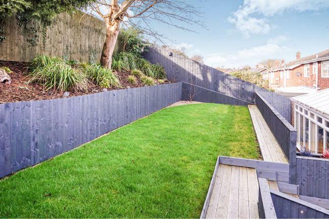 Rear Garden of Brookside, Burton-On-Trent DE15