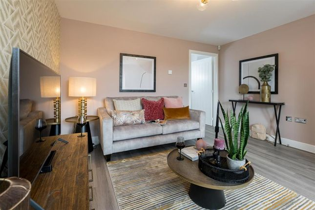 "Thumbnail Semi-detached house for sale in ""The Elliston - Plot 27"" at Hockliffe Road, Leighton Buzzard"