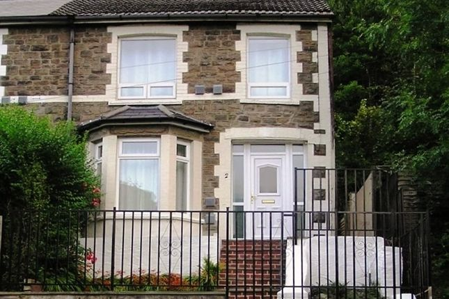 Thumbnail End terrace house for sale in Aberbeeg Road, Aberbeeg, Abertillery