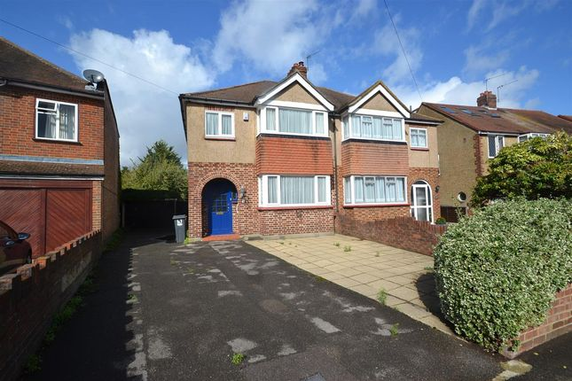Thumbnail Semi-detached house for sale in Boundaries Road, Feltham