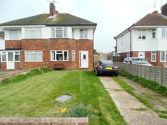 Thumbnail Semi-detached house for sale in Ardingly Drive, Goring-By-Sea, Worthing, West Sussex