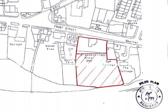 Thumbnail Land for sale in Front Street, Witton Gilbert, Durham