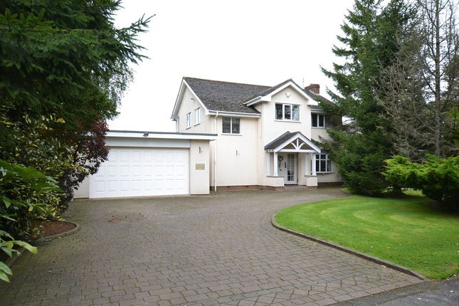 Thumbnail Detached house to rent in Beaufort Chase, Wilmslow