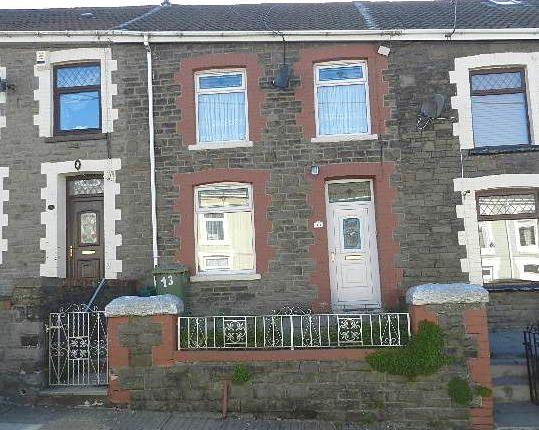 Terraced house for sale in Greenmeadow Terrace, Penrhiwfer, Tonypandy
