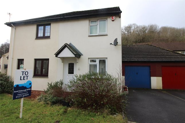 Thumbnail Semi-detached house to rent in Primrose Avenue, Barnstaple