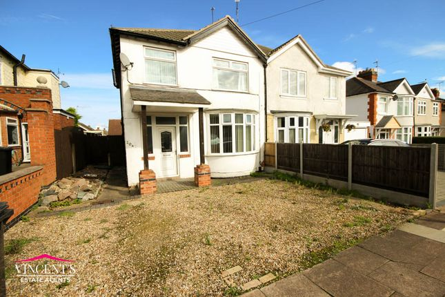 Semi-detached house for sale in Wigston Lane, Leicester