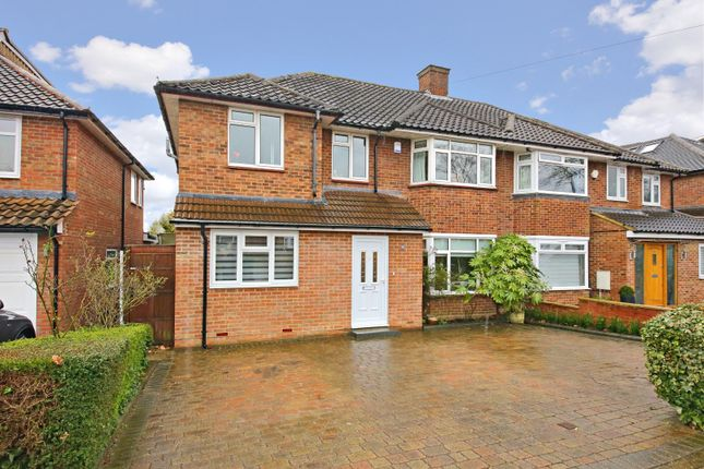 Thumbnail Semi-detached house to rent in Hartland Drive, Edgware