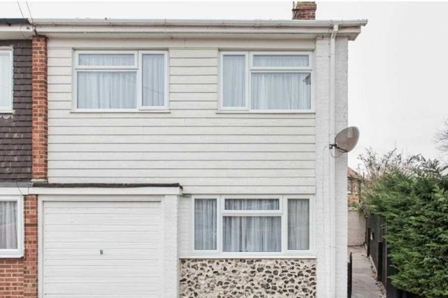 Thumbnail Semi-detached house to rent in Shorley Wall, 10 Claire Court, Broadstairs