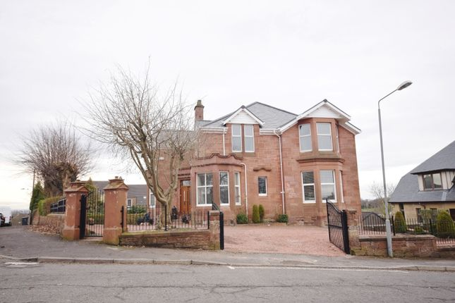 Thumbnail Detached house for sale in Lefroy Street, Blairhill, Coatbridge