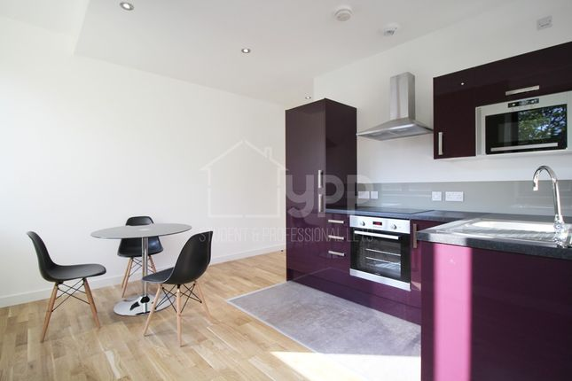 Thumbnail Studio to rent in Q One Residence, Wade Lane, Leeds