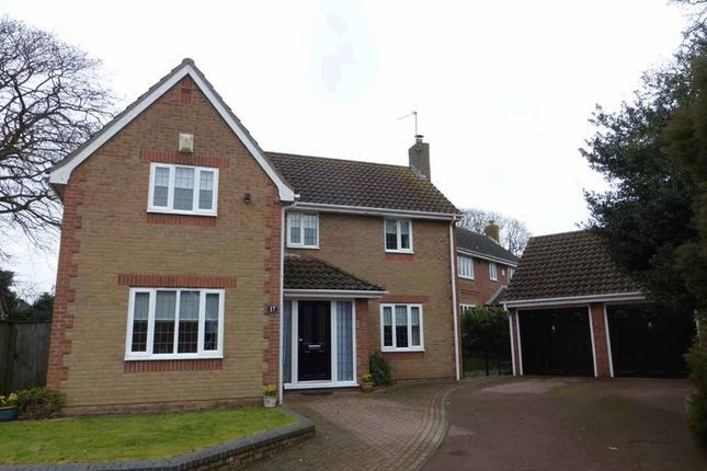 Thumbnail Detached house for sale in Cotman Drive, Bradwell, Great Yarmouth