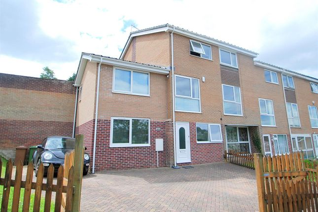 Thumbnail End terrace house for sale in Dynevor Close, Hartley, Plymouth