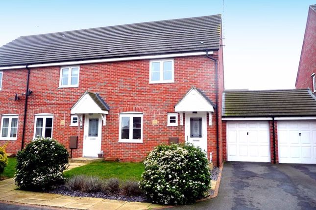 Thumbnail 3 bed property to rent in Milburn Drive, Northampton