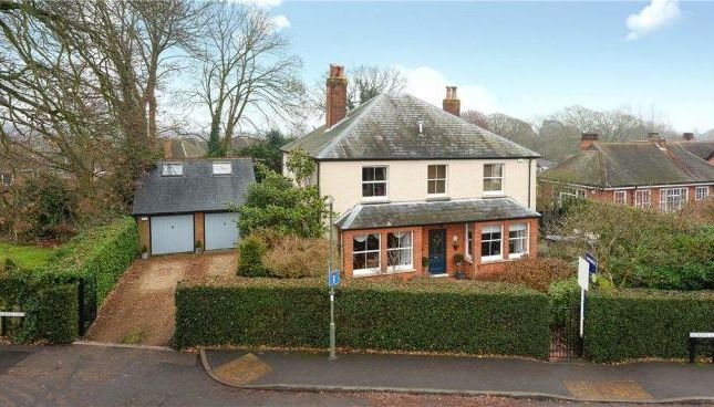 Thumbnail Detached house to rent in School Lane, Bagshot