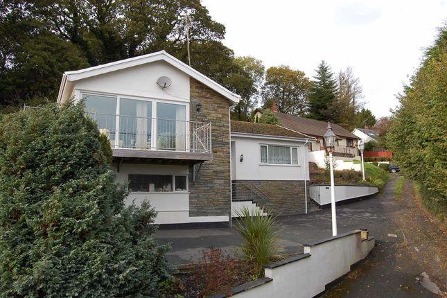 Thumbnail Detached bungalow for sale in Kilgetty Lane, Stepaside, Stepaside, Pembrokeshire