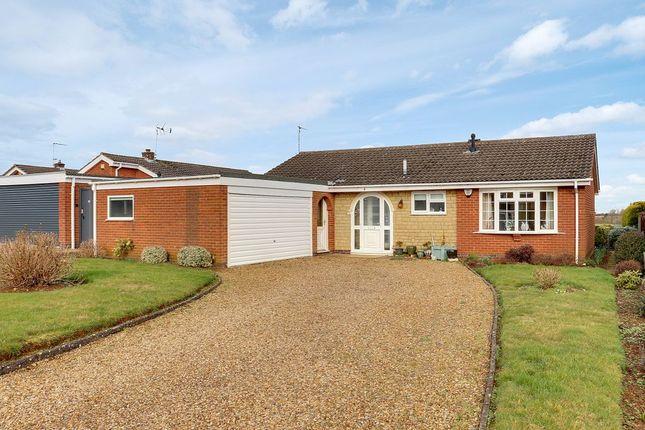 Thumbnail Detached bungalow for sale in Finch Close, Uppingham, Oakham