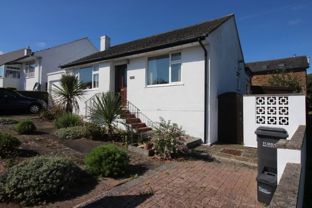 Thumbnail Detached bungalow for sale in Dixon Close, Paignton