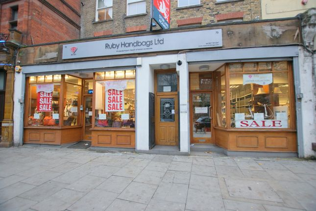 Thumbnail Retail premises to let in Double Fronted Shop, 71-73 Hackney Road, London