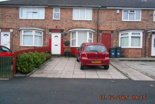Thumbnail Terraced house for sale in Foxwell Road, Bordesley Green