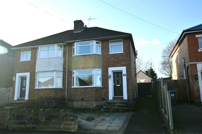Thumbnail Semi-detached house to rent in Wheatfield Road, Bilton, Warwickshire