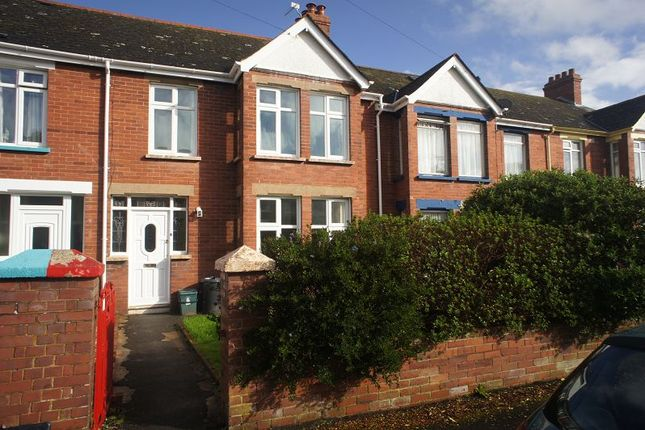 3 bed terraced house to rent in Pamela Road, Exeter