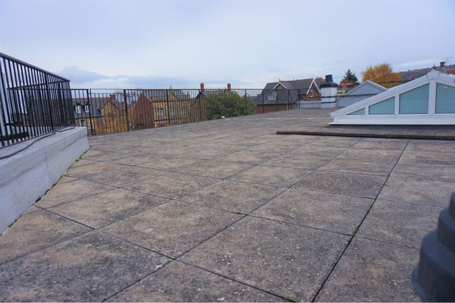 Roof Top Terrace of 1 Friday Street, Minehead TA24