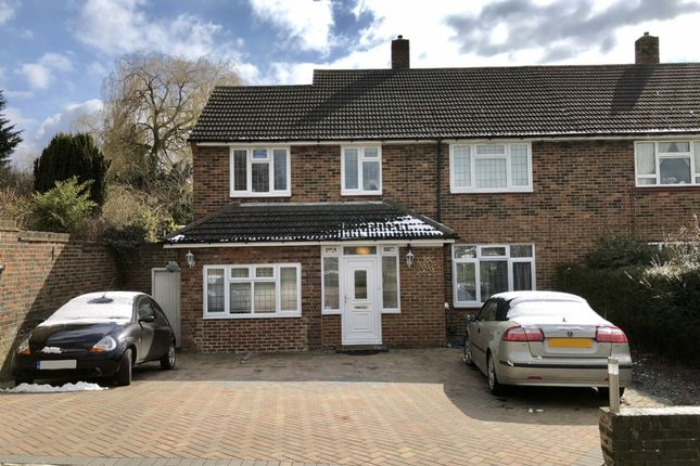 Thumbnail Semi-detached house for sale in Priory Path, Romford