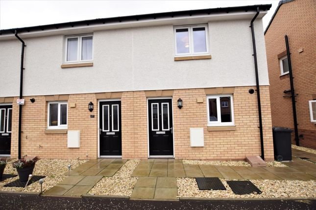 Thumbnail End terrace house for sale in Galashiels Avenue, Airdrie