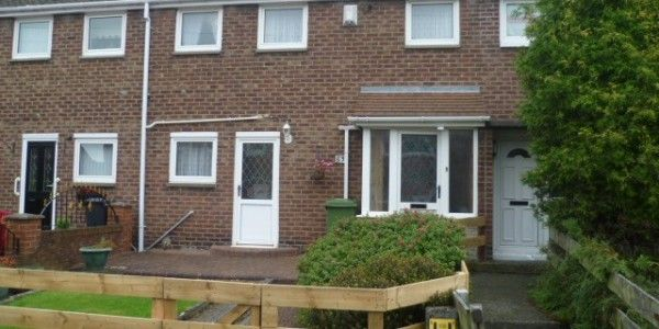 Thumbnail Terraced house to rent in Melbourne Gardens, South Shields