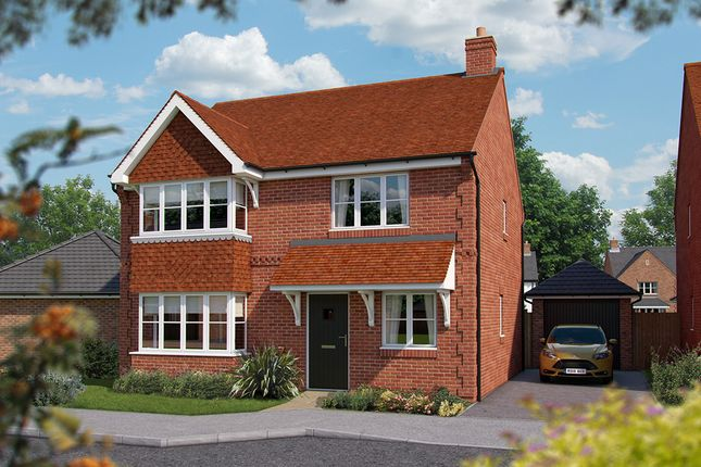 """Thumbnail Detached house for sale in """"The Canterbury"""" at North End Road, Steeple Claydon, Buckingham"""
