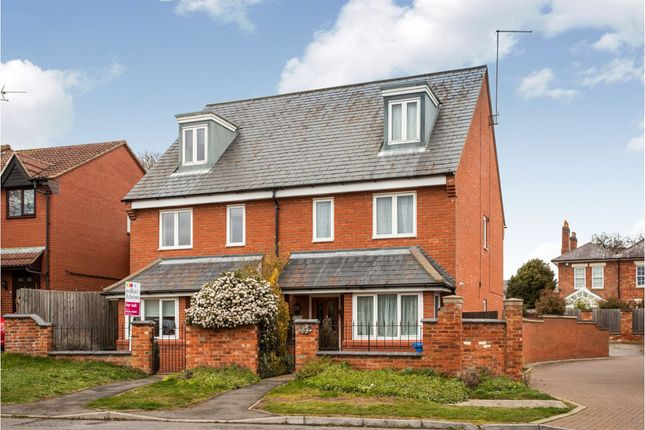 3 bed town house for sale in Evison Road, Rothwell, Kettering NN14