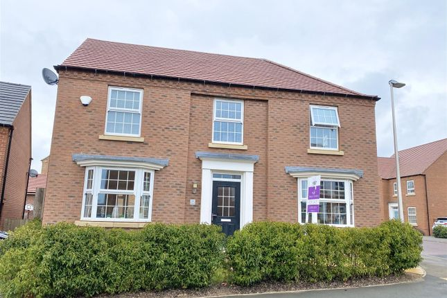 Thumbnail Detached house for sale in Orton Road, Warwick