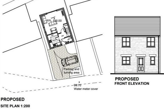 Thumbnail Land for sale in Lanner, Redruth