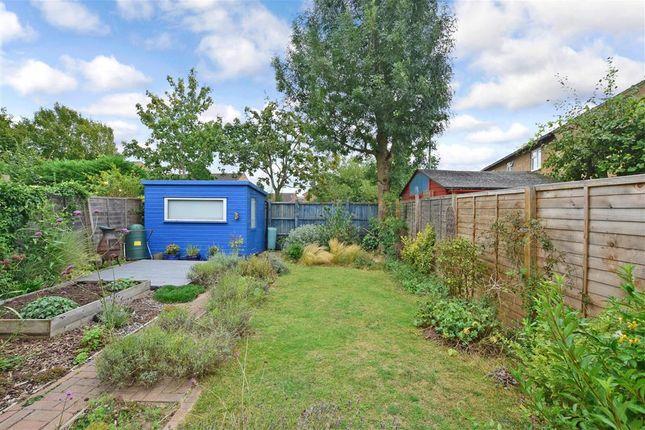 Rear Garden of Hawks Way, Ashford, Kent TN23