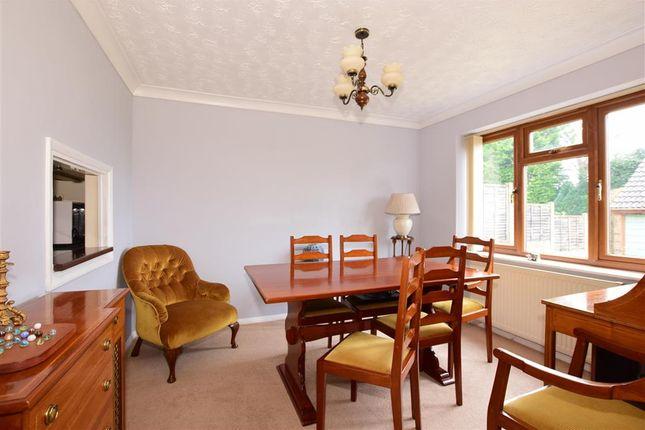 Dining Room of Bulrush Close, Walderslade, Chatham, Kent ME5