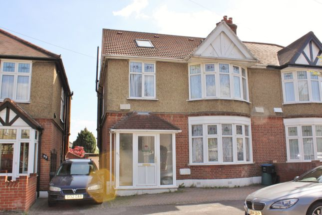 Thumbnail Semi-detached house to rent in Woodville Road, London