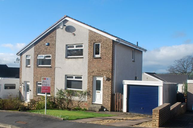 Thumbnail Semi-detached house for sale in Campbell Avenue, Dumbarton