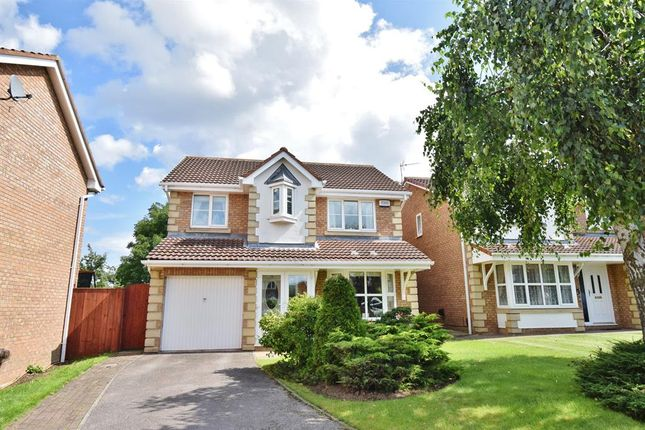 Thumbnail Detached house for sale in The Pastures, Coulby Newham, Middlesbrough