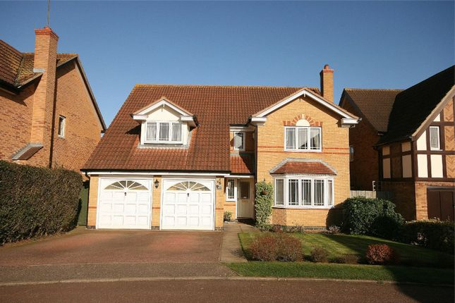 Thumbnail Detached house for sale in Tudely Close, Wootton, Northampton