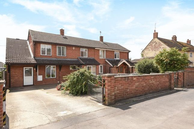 Thumbnail Semi-detached house for sale in Millfield Avenue, Marsh Gibbon, Bicester