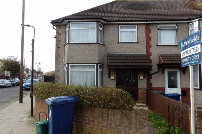 4 bed end terrace house for sale in Burns Avenue, Southall, Middlesex