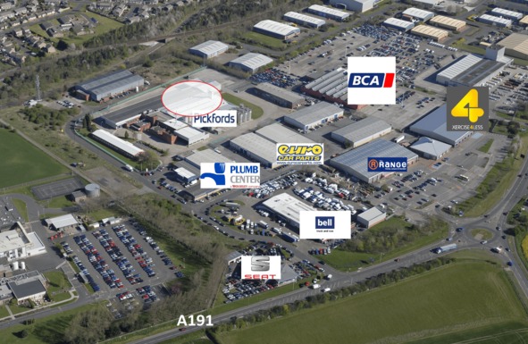 Thumbnail Industrial to let in Bellway Industrial Estate, Whitley Road, Longbenton, Newcastle Upon Tyne