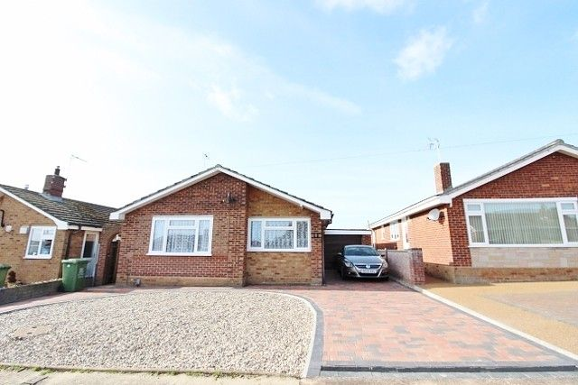 Thumbnail Detached bungalow for sale in Upper Grange Crescent, Caister-On-Sea