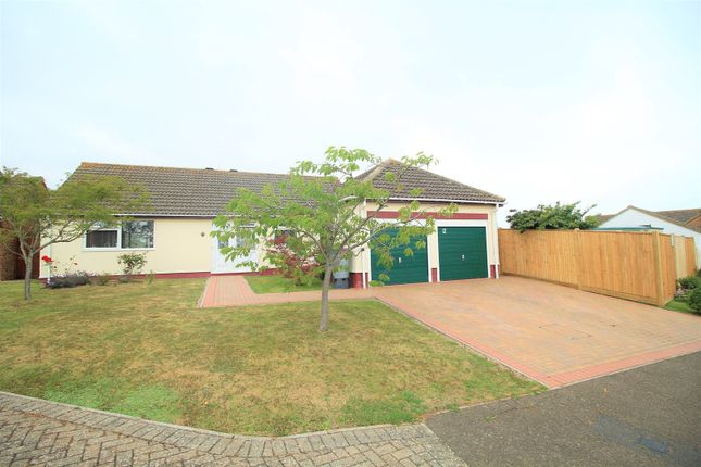 Thumbnail Detached bungalow for sale in Hillborough Close, Bexhill-On-Sea
