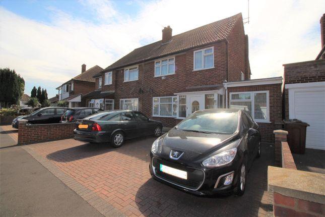 Thumbnail Terraced house to rent in Blackberry Farm Close, Heston, Hounslow